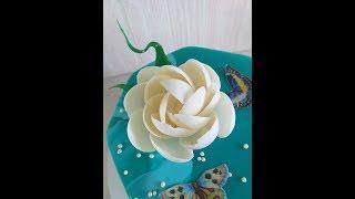 як зробити шоколадний квітка