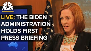 WATCH LIVE: The Biden administration holds press briefing — 1/20/2021