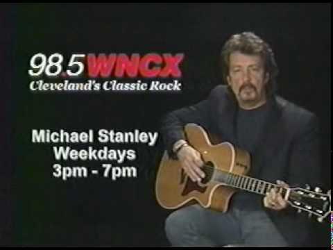 98 .5  W N C X  CLEVELAND OHIO.. MICHAEL STANLEY...DAVID LEE ROTH