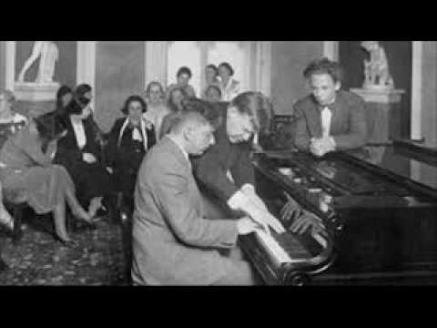 "Edwin Fischer plays Beethoven Sonata No. 21 Op. 53 ""Waldstein"""