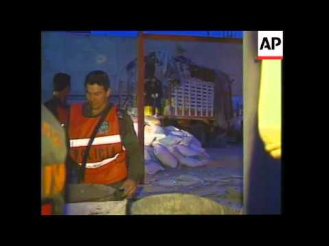 COLOMBIA: BOGOTA: REMOTE CONTROL BOMB BLAST KILLS 8 POLICE OFFICERS