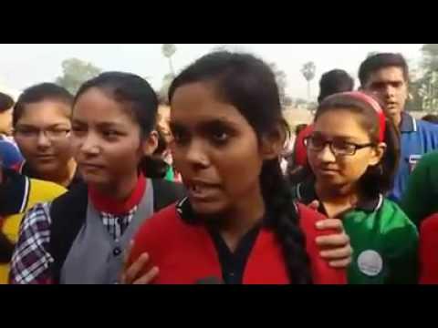 Bihar school girls blast media for focussing only on caste