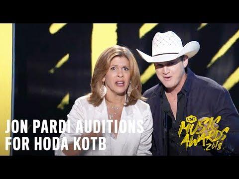 2018 CMT Music Awards | Jon Pardi Auditions for Hoda Kotb
