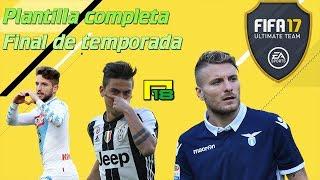 FIFA 17 | ULTIMATE TEAM | PLANTILLA FIN DE TEMPORADA en DIRECTO