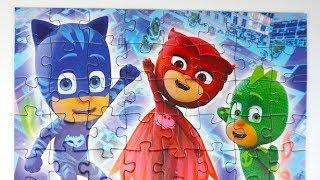 Герои в Масках детский пазл и сюрпризы
