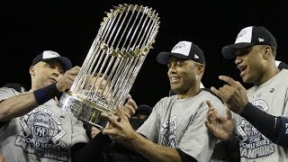 Yankees 5 World Series championships