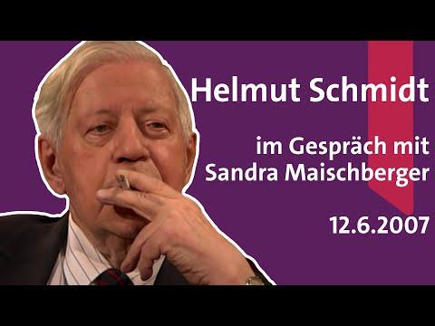 Helmut Schmidt bei Maischberger