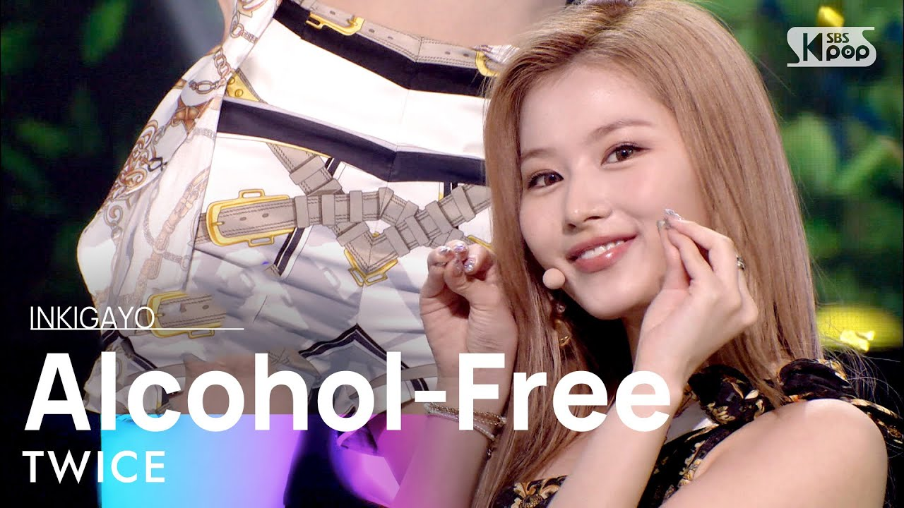 TWICE(트와이스) - Alcohol-Free @인기가요 inkigayo 20210620