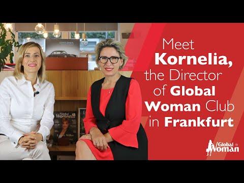 Meet Kornelia, The Director of Global Woman Club in Frankfurt