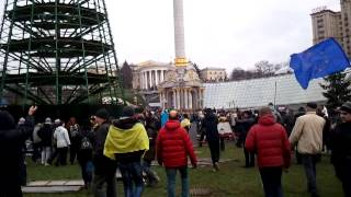 Беспредел в Киеве 01.12.2013