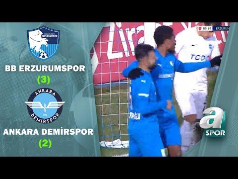 BB Erzurumspor 3 - 2 Ankara Demirspor (Ziraat Türkiye 4. Tur Maçı)