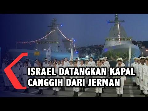 Angkatan Laut Israel Datangkan Kapal Rudal Canggih dari Jerman