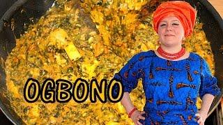 Oyinbo Cooking: Ogbono x Okro Soup Nigerian Food!