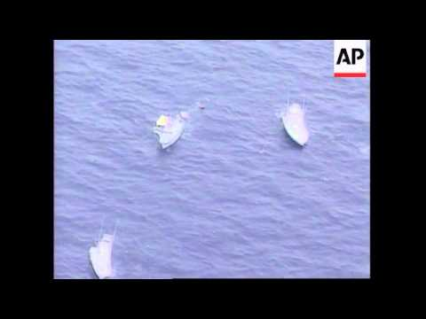 USA: EXHAUSTED SWIMMER GIVES UP ATTEMPT TO CROSS FLORIDA STRAITS