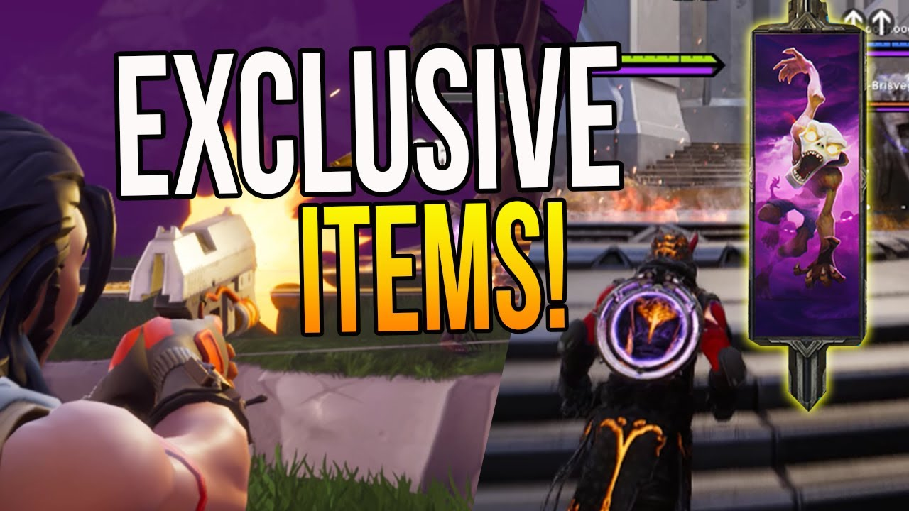 paragon fortnite news exclusive banners icons v42 card update new improved itemization - icone fortnite youtube