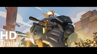 Overwatch   New Hero  Wrecking Ball Origin Story