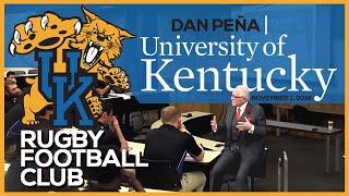 Dan Talks at the University of Kentucky Rugby Football Club