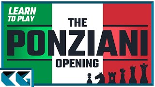 Chess Openings: Learn to Play the Ponziani Opening!