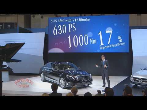 2013 Tokyo Motor Show: Mercedes-Benz Presentation
