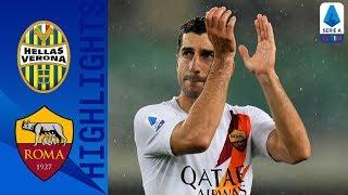 Hellas Verona 1-3 Roma | Kluivert, Perotti e Mkhitaryan lanciano i giallorossi | Serie A