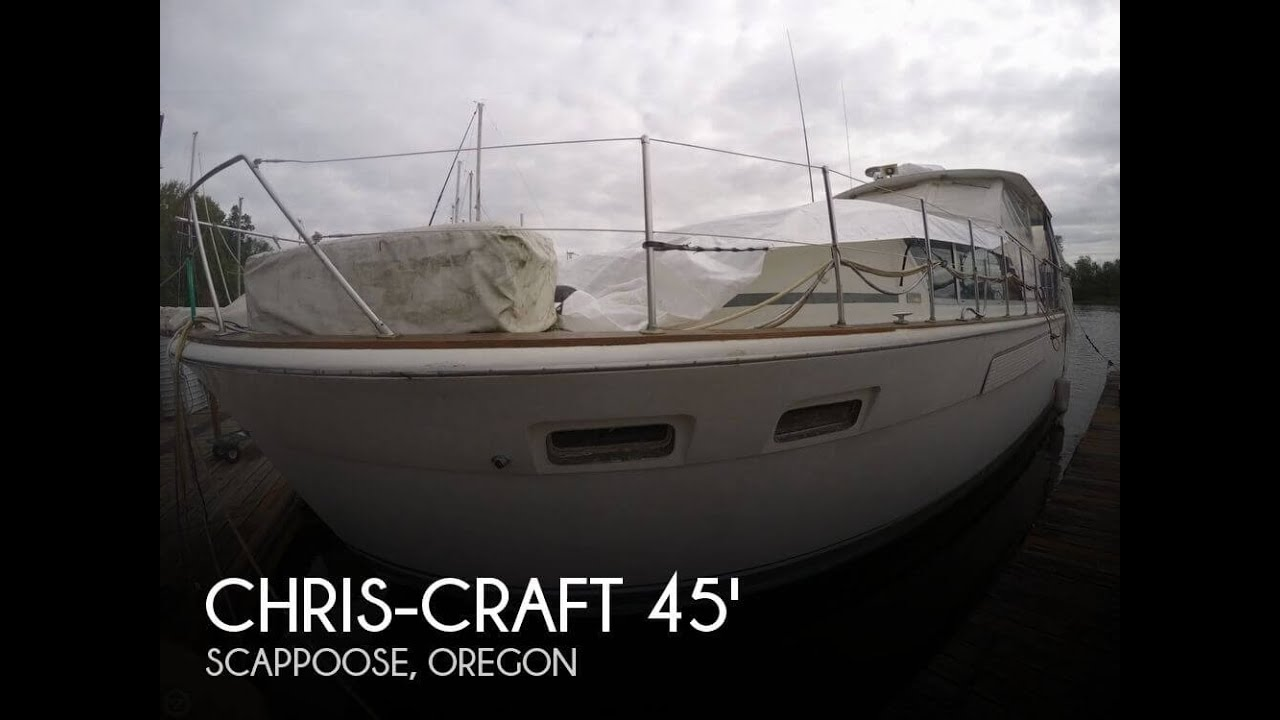 [UNAVAILABLE] Used 1972 Chris-Craft 45 Commander MY in Scappoose, Oregon