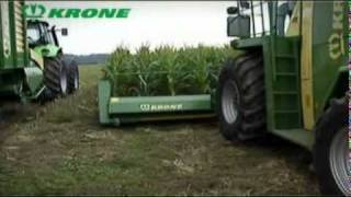 Krone Landmaschinen - BiG X Maisworkshop   -   Video ...............Oeni