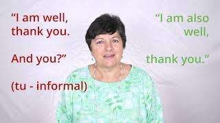 Italian Language with Carmela Ep. 01