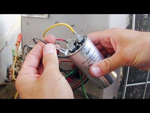 AC Fan Compressor Not Working - How to Repair / Replace HVAC Run