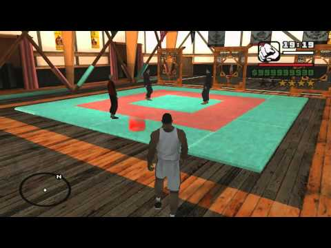 GTA San Andreas all gym moves
