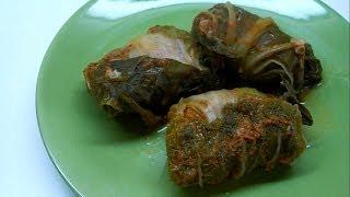 Вкусно и просто: Голубцы из пекинской капусты. Пошаговый Рецепт приготовления с видео.