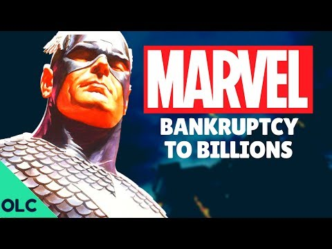 How MARVEL Comics Turned Bankruptcy into Billions