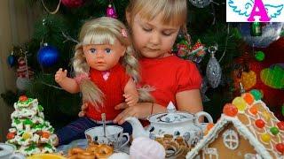 Беби Борн старшая сестра на чайной вечеринке Baby Born older sister at the tea party