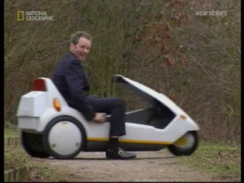 Chris Barrie talks about the Sinclair C5
