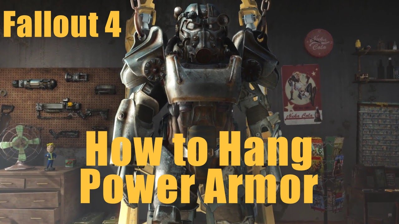how to get out of power armour fallout 4 ps4