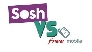 [Speedtest] Free Mobile VS Sosh [H+] - iPhone 5
