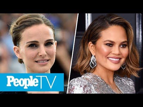 Natalie Portman Brought Son To Star Wars Set, Chrissy Teigen Opens Up About Future Babies   PeopleTV