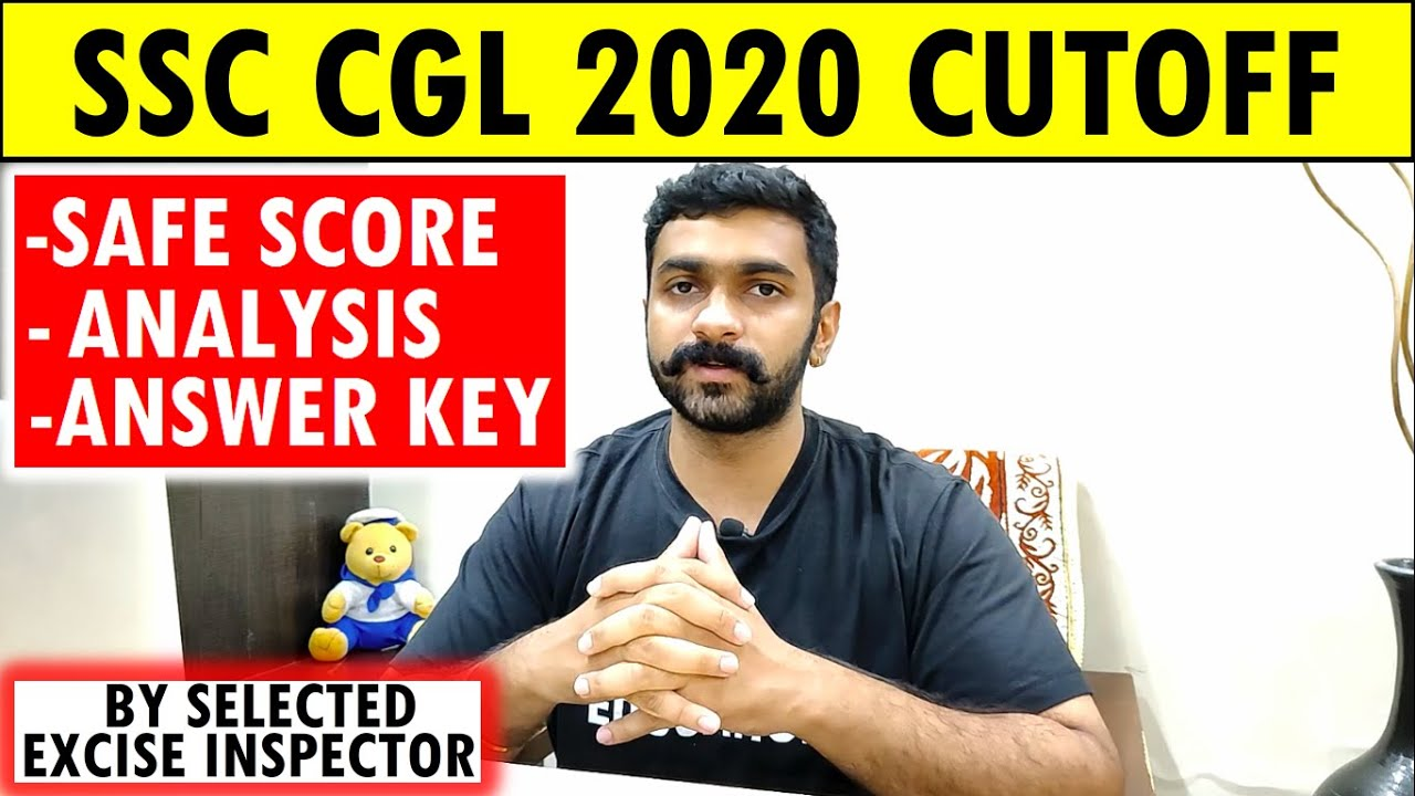 Download SSC CGL 2020 CUT OFF SSC CGL 2020 TIER 1 EXPECTED CUTOFF ANALYSIS ANSWER KEY NORMALISED SAFE SCORE
