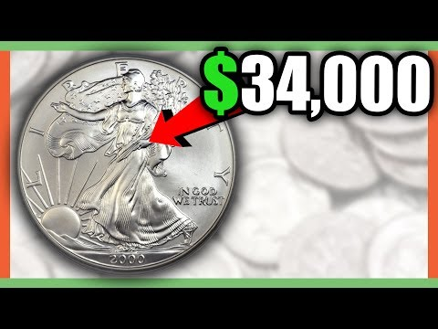 RARE SILVER EAGLE COINS WORTH MONEY - SILVER COINS VALUE!!