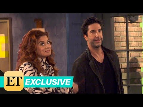 Will & Grace First Look: David Schwimmer Makes His Debut as Grace's Boyfriend (Exclusive)