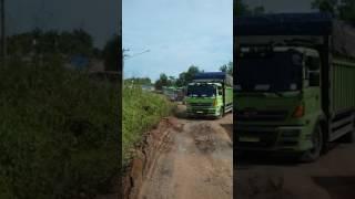 Jalan Lintas timur Sumatera Rusak lagi.