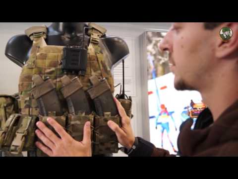 Kalashnikov modular tactical assault vest combat gear with body armour Russia defense industry