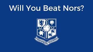 James Norwood - Fantasy Football Challenge