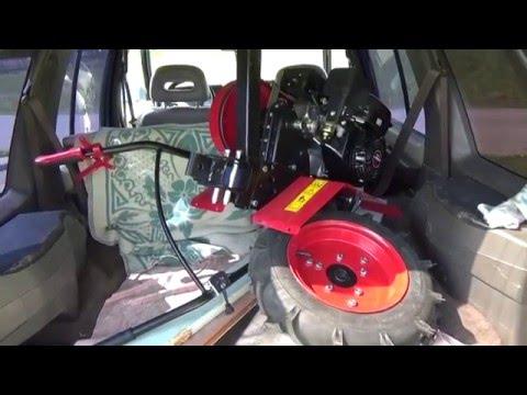 Как перевезти мотоблок в легковом автомобиле