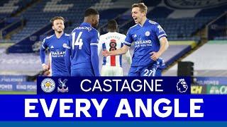 EVERY ANGLE   Timothy Castagne vs. Crystal Palace   2020/21