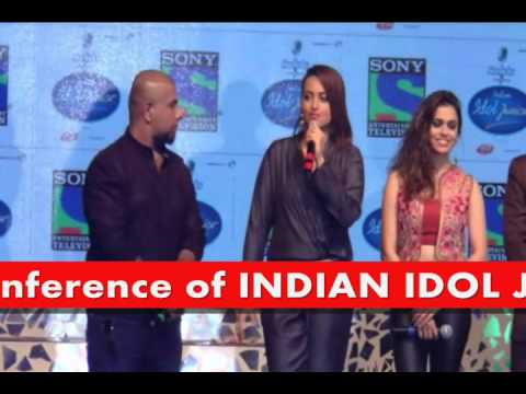 Sonakshi Sinha Address Launch Press Conference of INDIAN IDOL JUNIORS