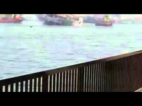 Cargo boat catches fire near Sharjah's Port Khalid (Basheer Marancherry)