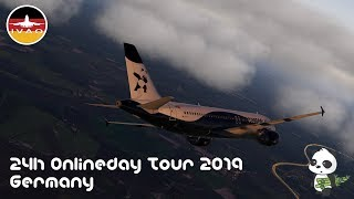X-Plane 11 | IVAO 24H Online Day 2019 | PandaFly Virtual Airlines [GER]