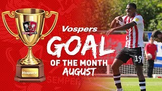 🏆 RESULT: Vospers' August Goal of the Month: Tristan Abrahams