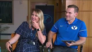 Zach Wilson & Aleva Hifo on the 2019 BYU Football Media Day Web Chats