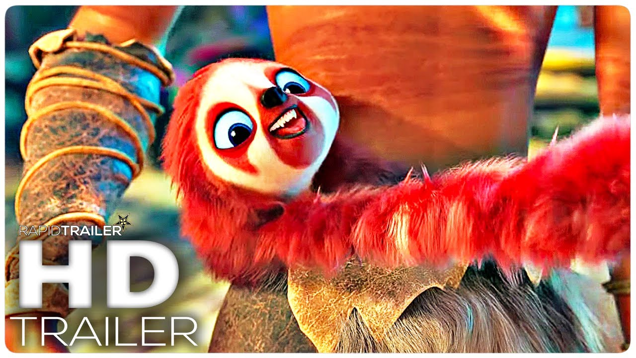 THE CROODS 2 Official Trailer (2020) A New Age, Animated Movie HD